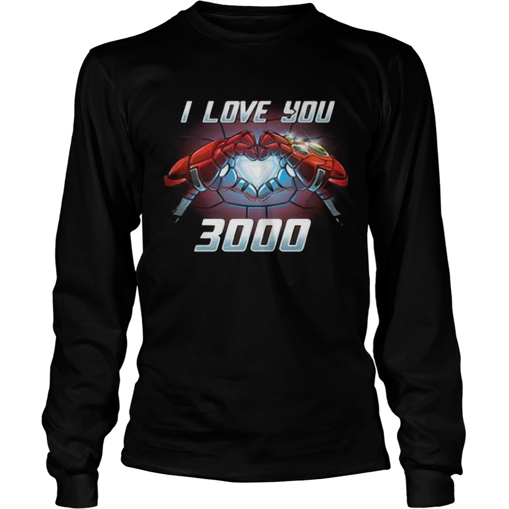 Iron Man I Love You 3000 Longsleeve Tee