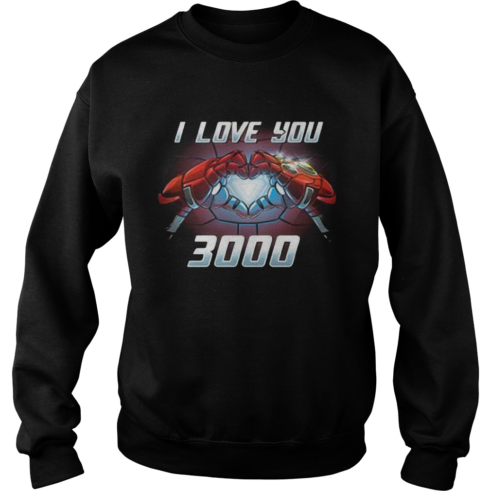 Iron Man I Love You 3000 Sweater