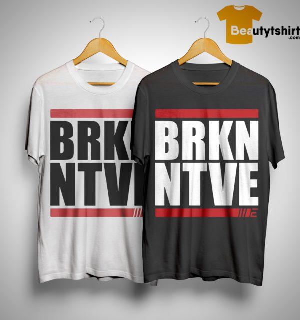 Israel Adesanya BRKNNTVE Stylebender Shirt