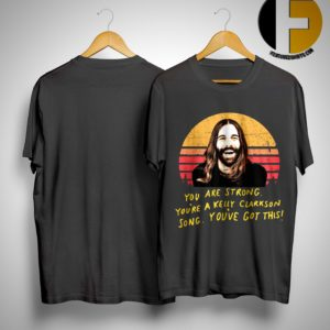 Jonathan Van Ness Vintage You Are Strong You're A Kelly Clarkson Song You've Got This Shirt