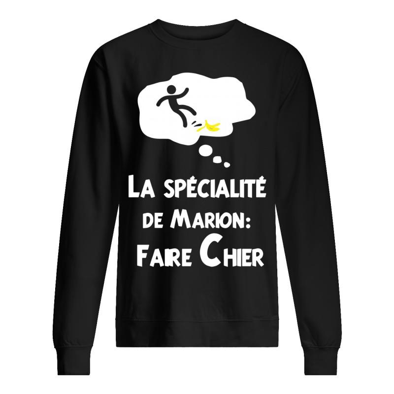 La Spécialité De Marion Faire Chier Sweater