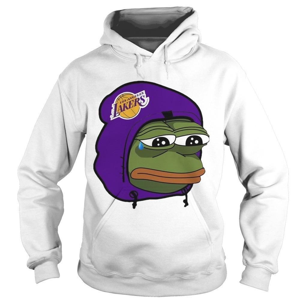 Lake Show Lakers Sad Pepe Hoodie