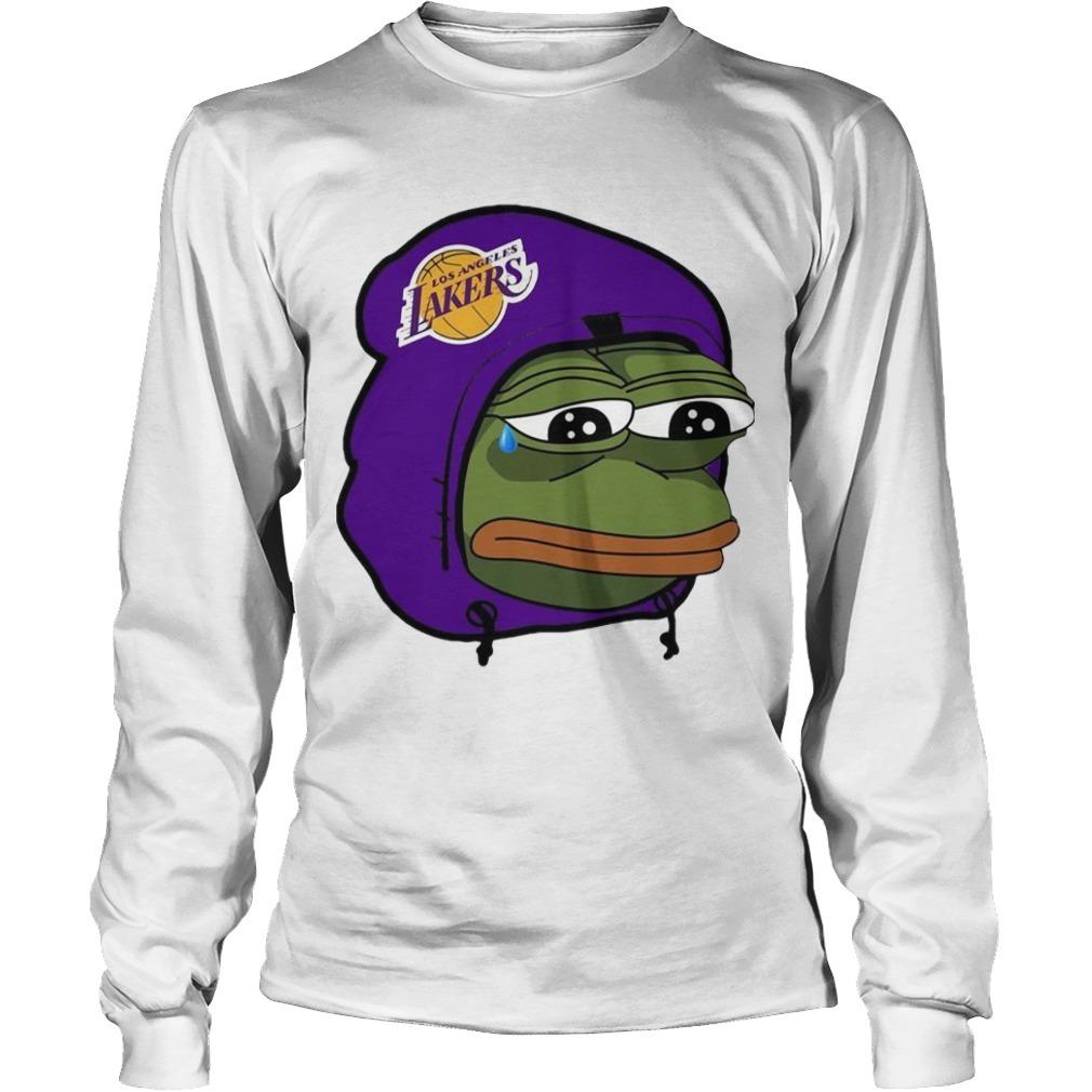 Lake Show Lakers Sad Pepe Longsleeve Tee