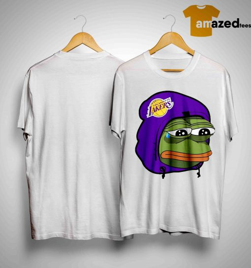 Lake Show Lakers Sad Pepe Shirt