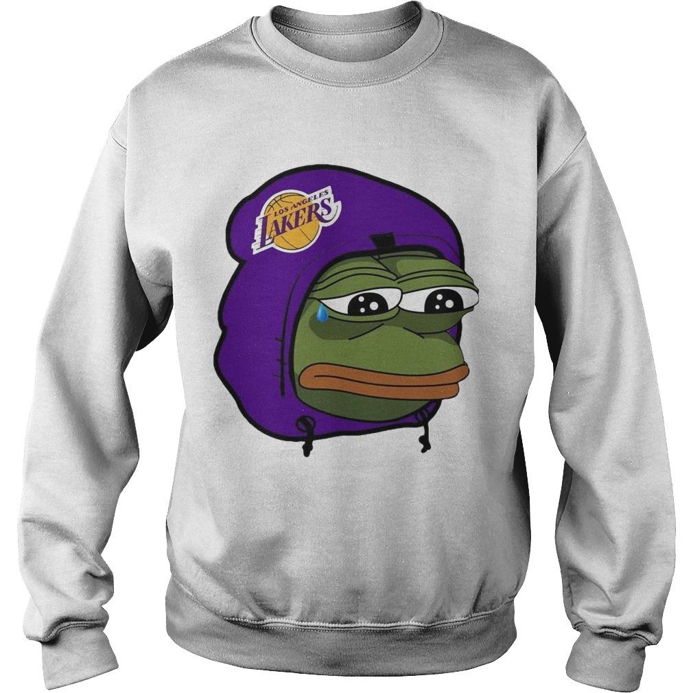 Lake Show Lakers Sad Pepe Sweater