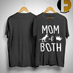 Mom Dinosaur Of Queen Both Shirt