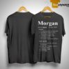 Morgan Definition Origin 1867 Shirt