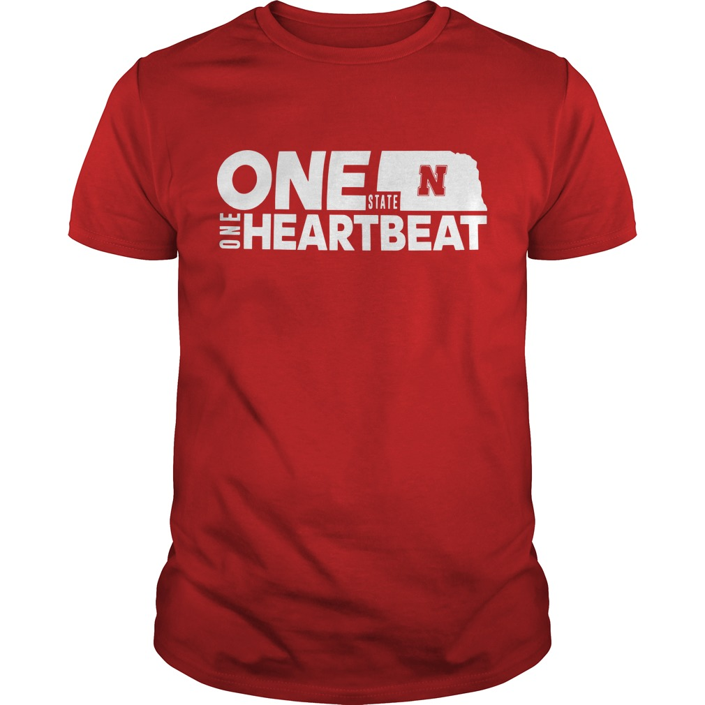 Nebraska Flood Husker One State N One Heartbeat Shirt