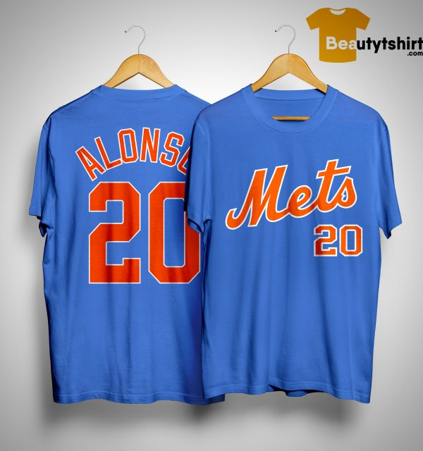 New York Mets Alonso 20 Shirt