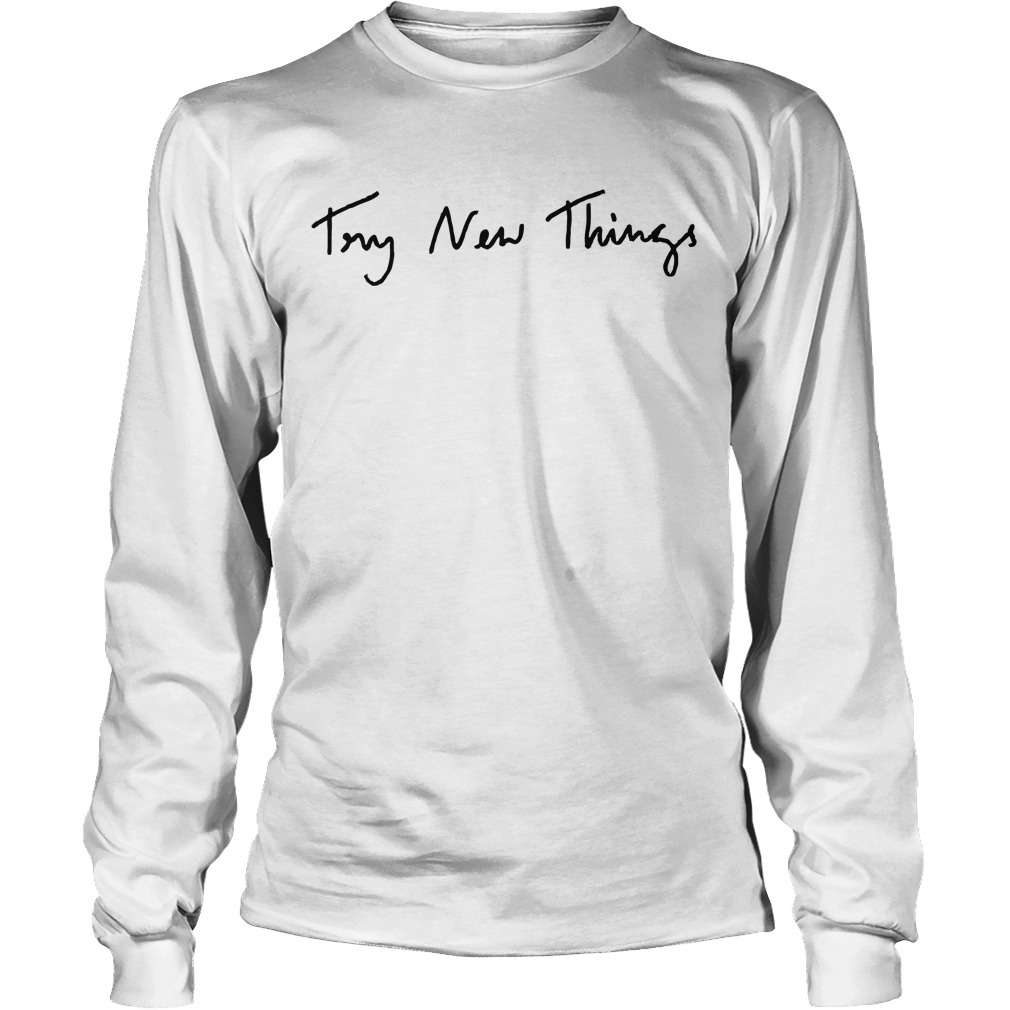 Phil Lester Try New Things Longsleeve Tee