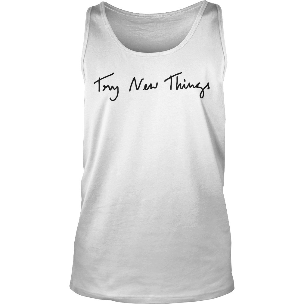 Phil Lester Try New Things Tank Top
