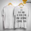 Plus Tard Je Veux Être Une Licorne Comme Tata Shirt