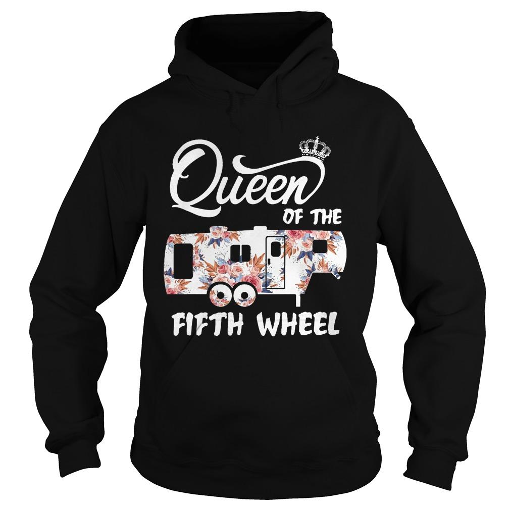Queen Of The Fifth Wheel HoodieQueen Of The Fifth Wheel Hoodie