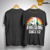 Rainbow Unicorn Awesome Since 82 Shirt