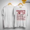 Softball Coach's Wife Yes He Is Coaching No I Don't Know When He'll Be Home Shirt