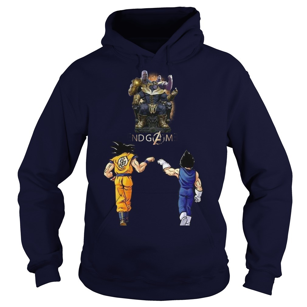 Songoku And Vegeta Endgame Thanos Hoodie