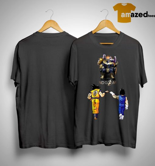 Songoku And Vegeta Endgame Thanos Shirt