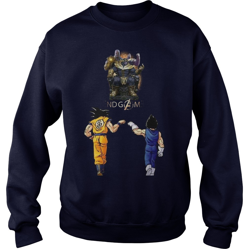 Songoku And Vegeta Endgame Thanos Sweater