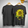 Sunflower You Are My Sunshine Face Jack Skellington Shirt