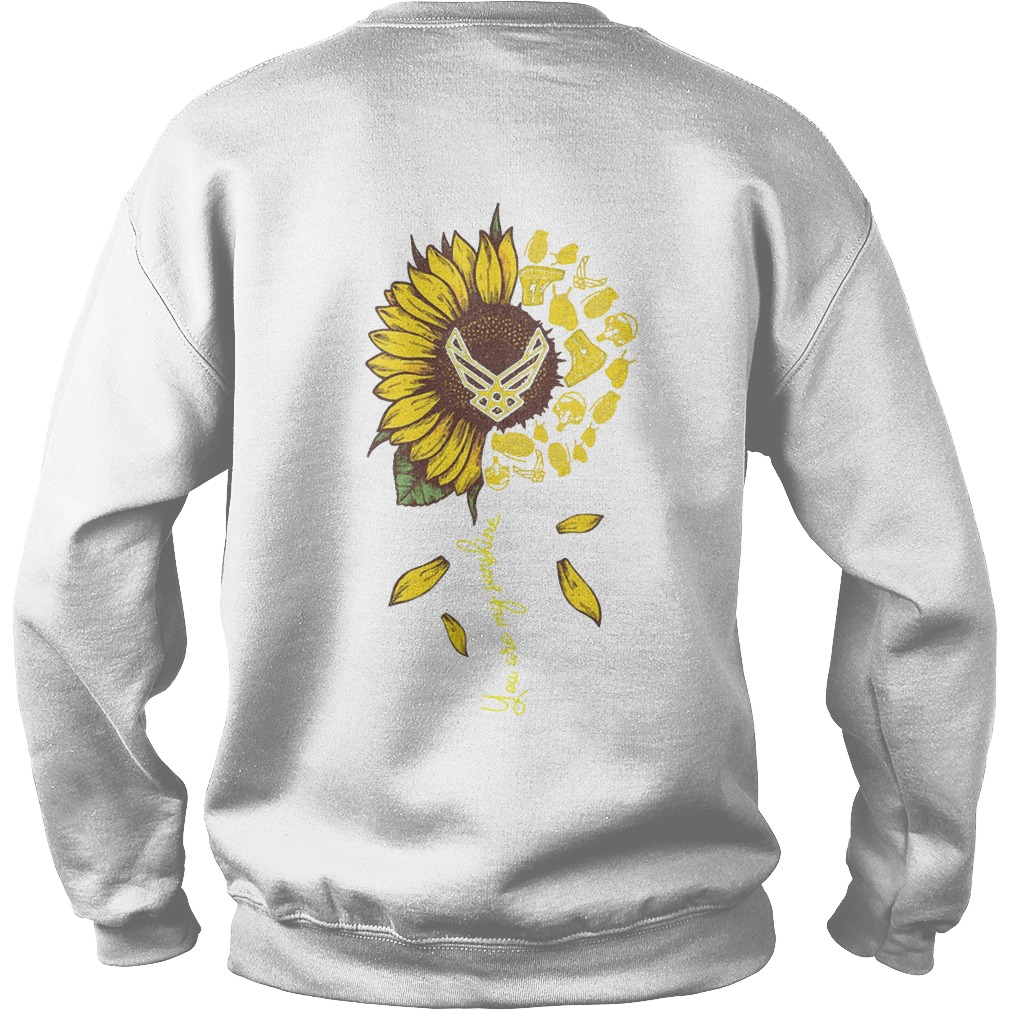 Sunflower You Are My Sunshine Us Airforce Sweater