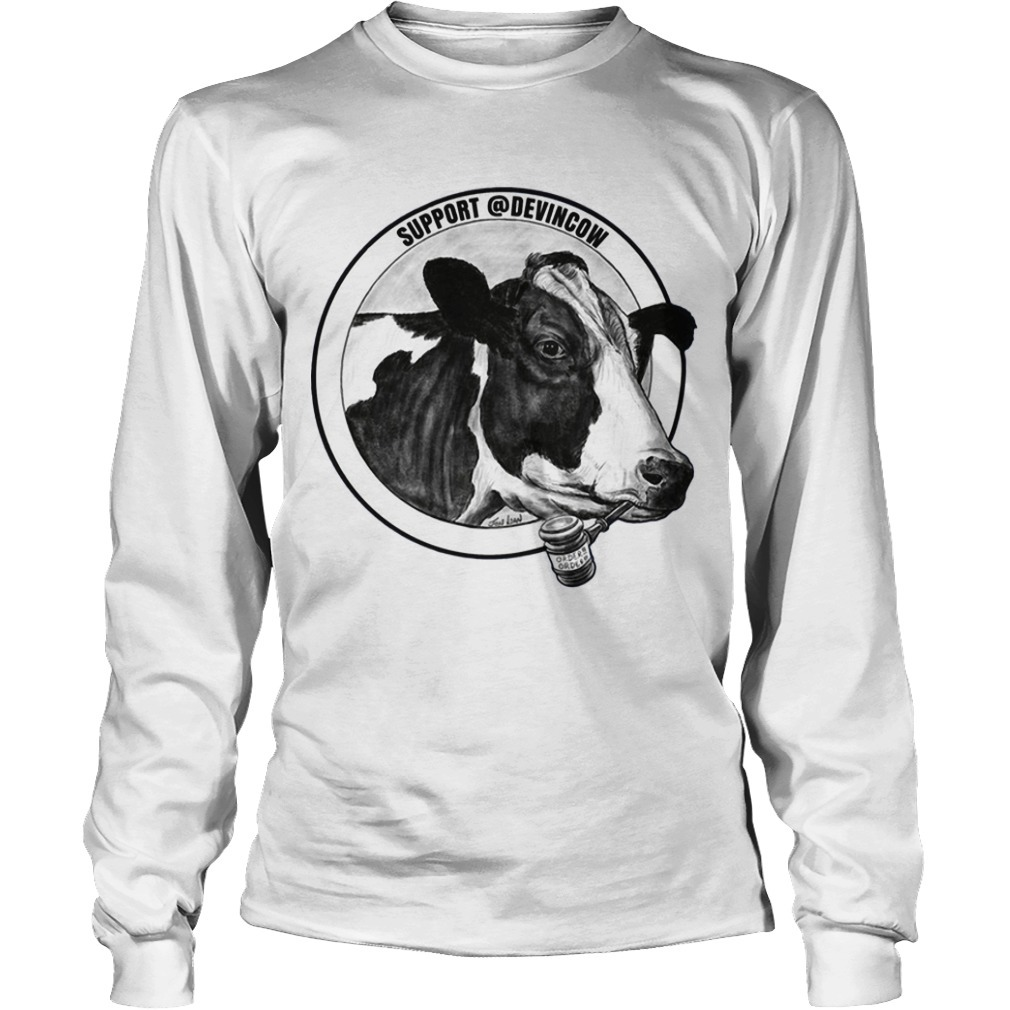 Support @DevinCow Longsleeve Tee