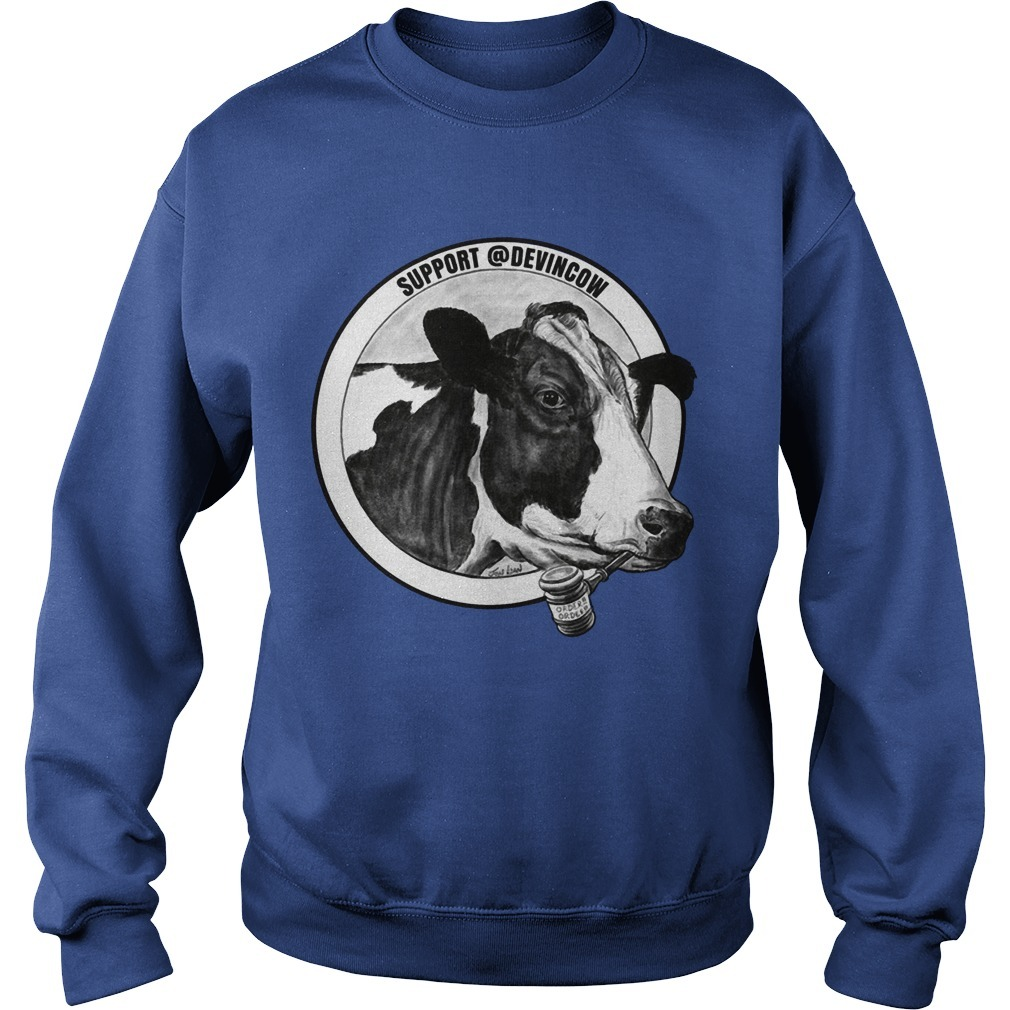 Support @DevinCow Sweater