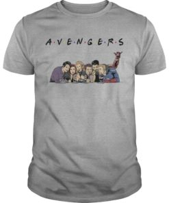 TV Shows Parody Avengers Friends Shirt
