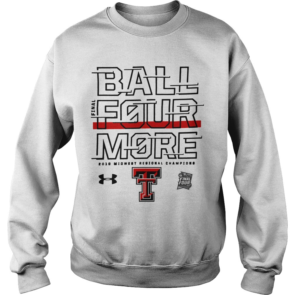 Texas Tech Final Four Ball Four More Sweater