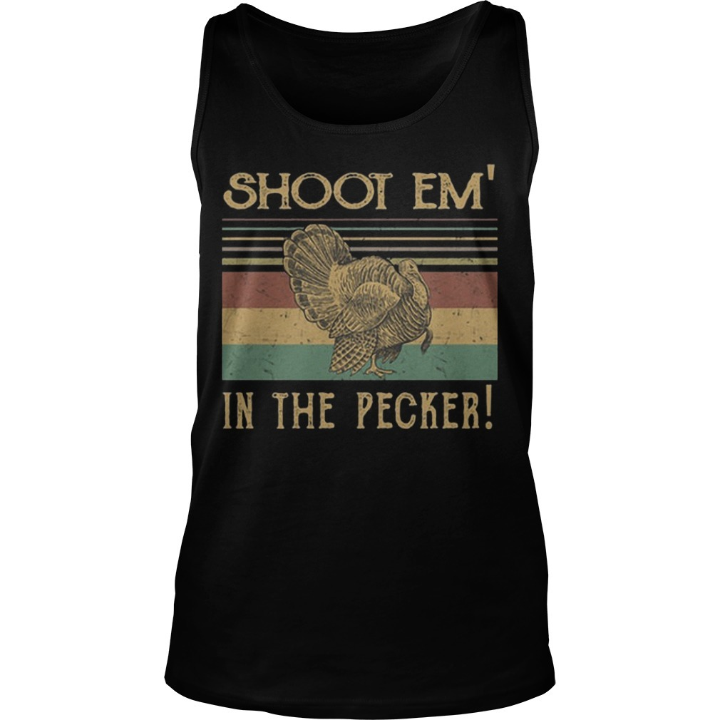 The Sunset Shoot Em In The Pecker Tank Top