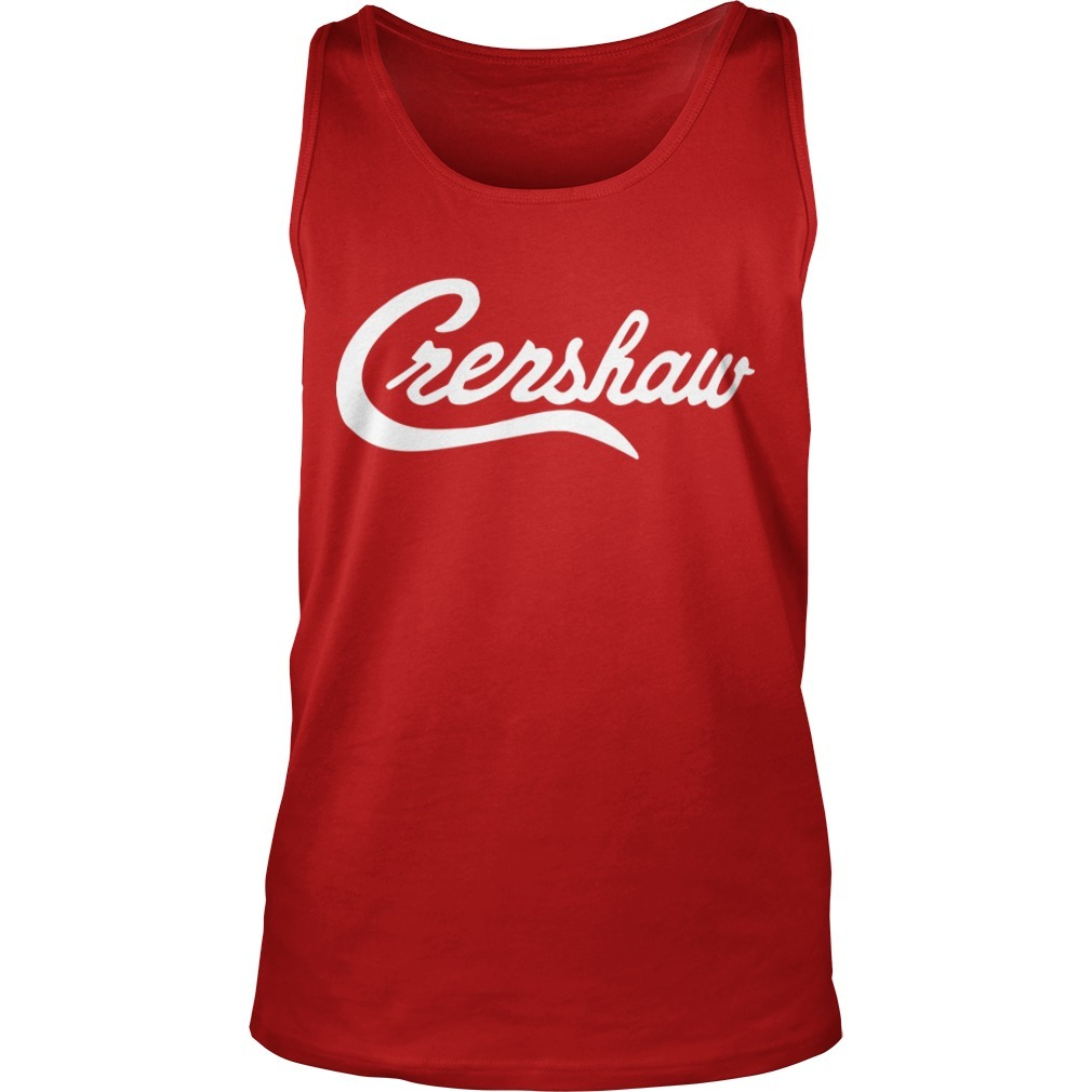 Tiger Woods Crenshaw Tank Top