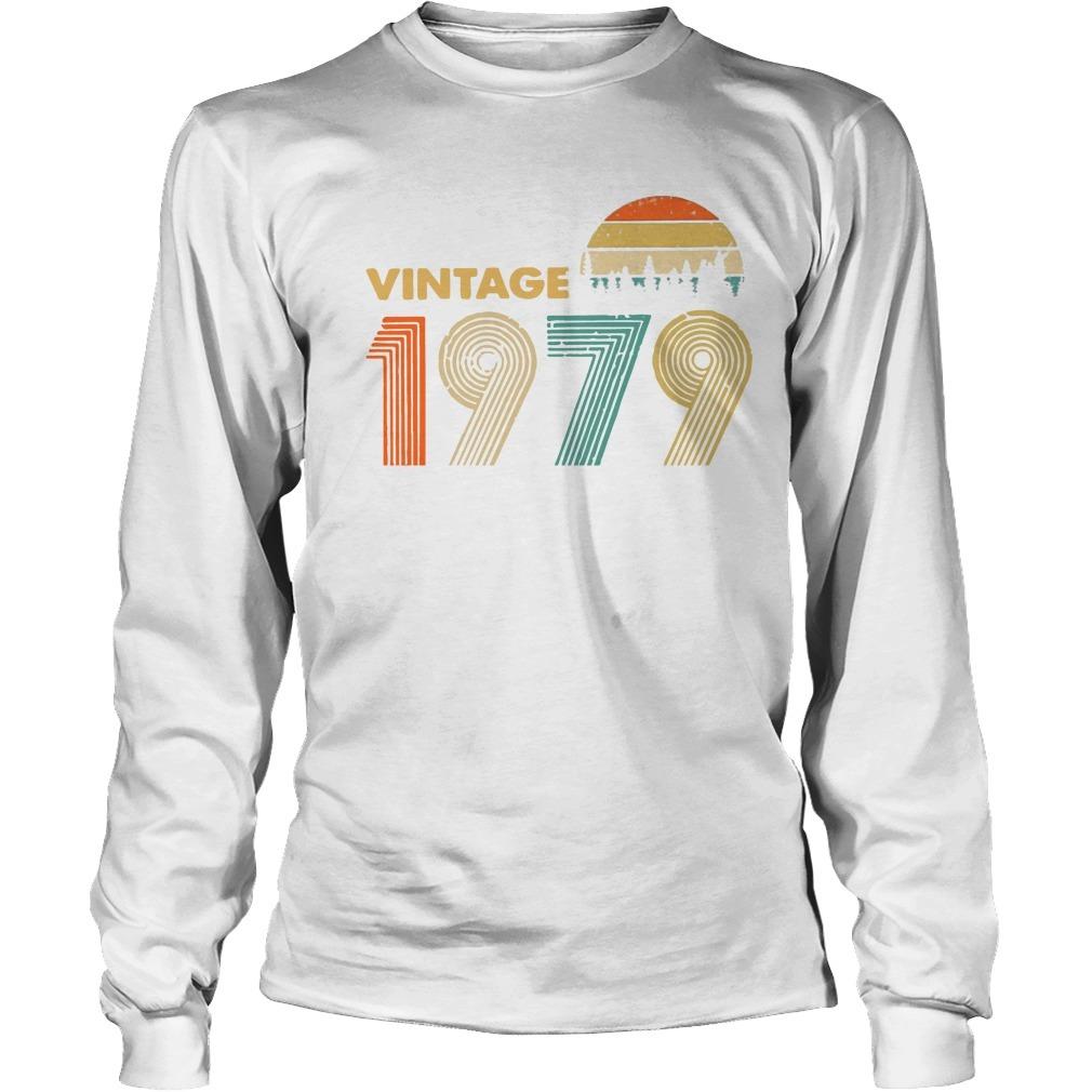 Vintage 1979 Sunset Longsleeve Tee