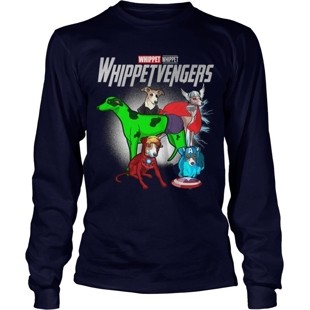 Whippet Whippetvengers Longsleeve Tee