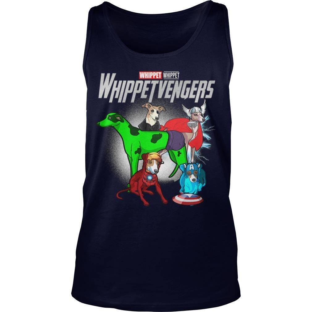 Whippet Whippetvengers Tank Top