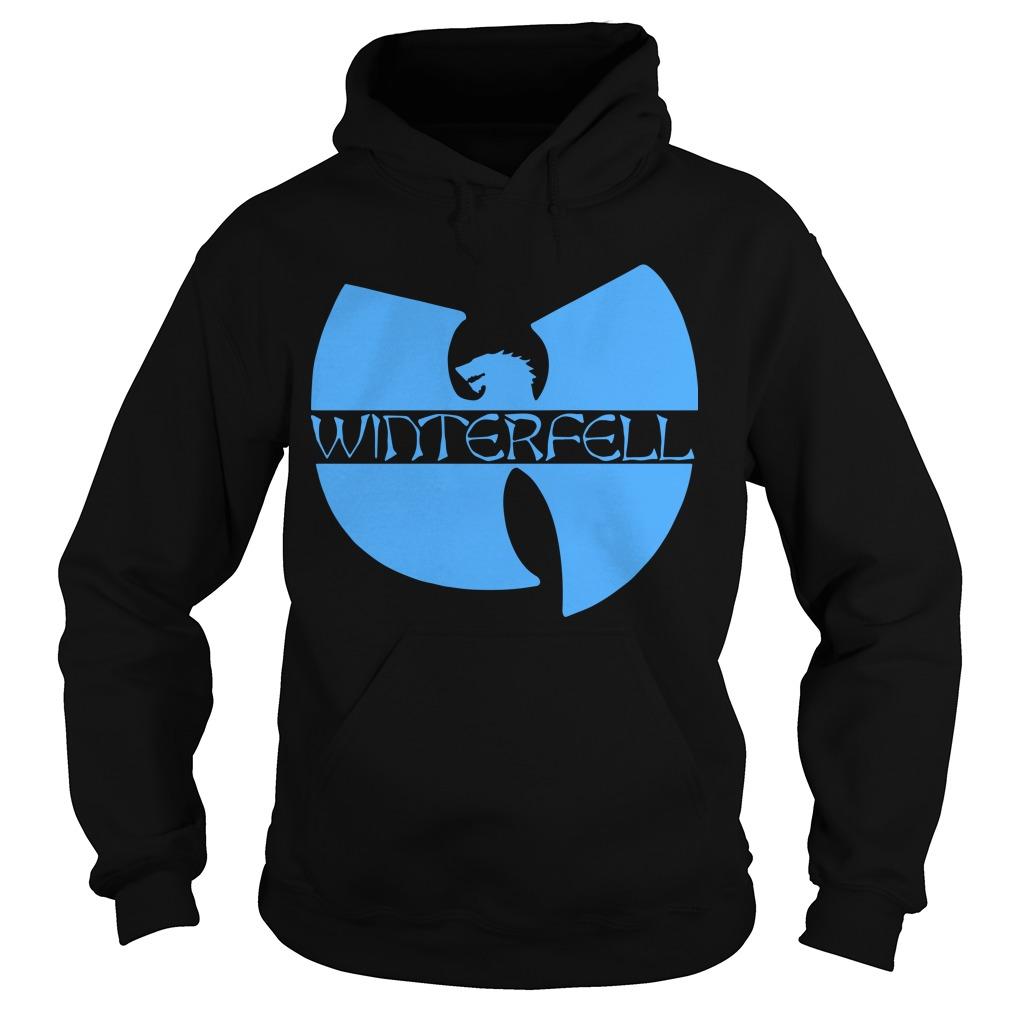 Wu Tang Clan Game Of Thrones Winterfell Hoodie
