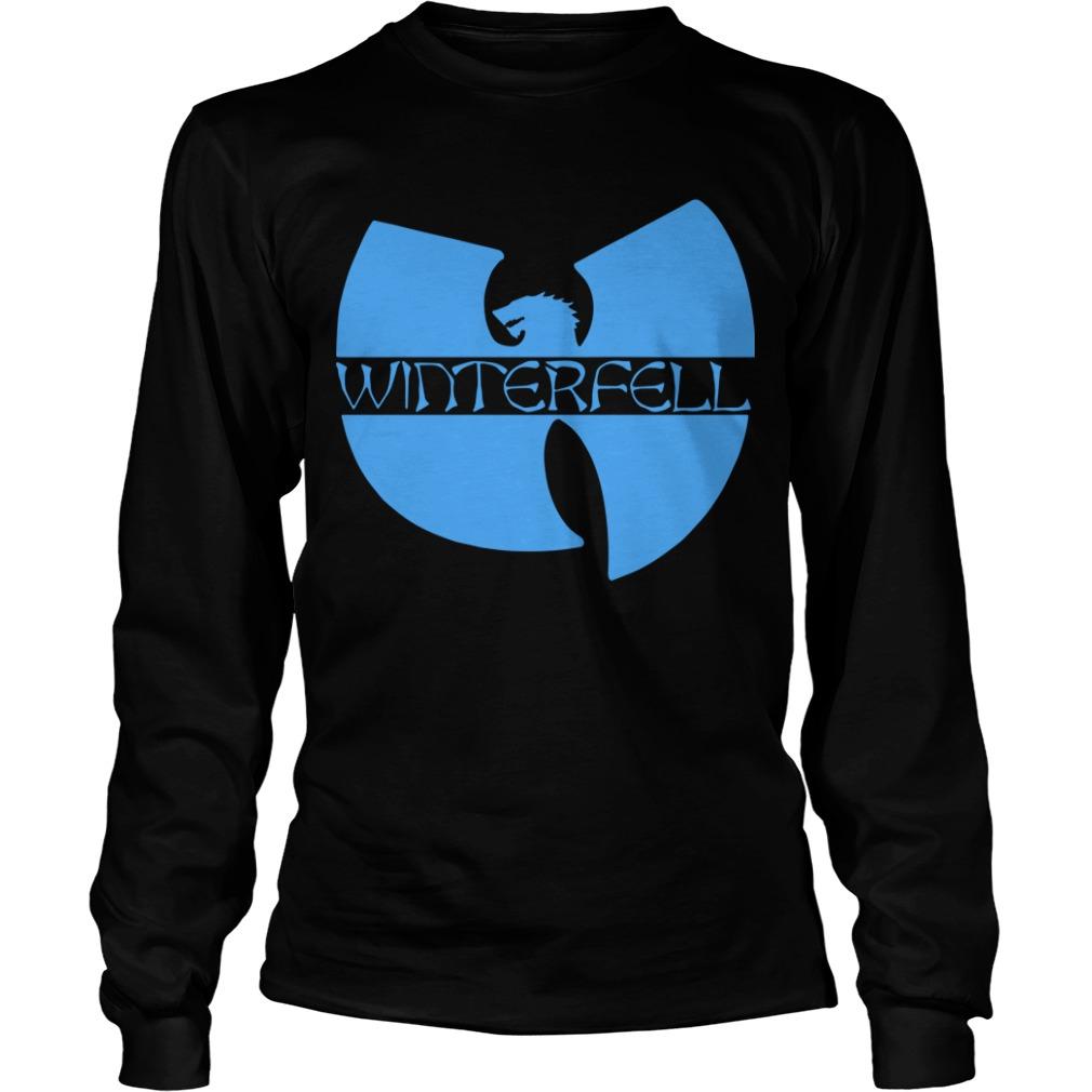 Wu Tang Clan Game Of Thrones Winterfell Longsleeve Tee
