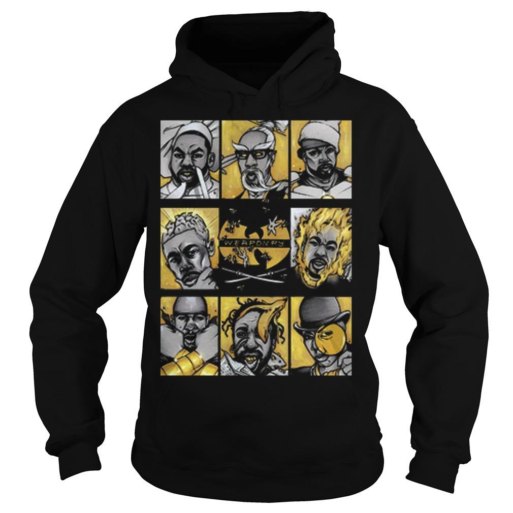 Wu Tang Clan Weaponry Hoodie