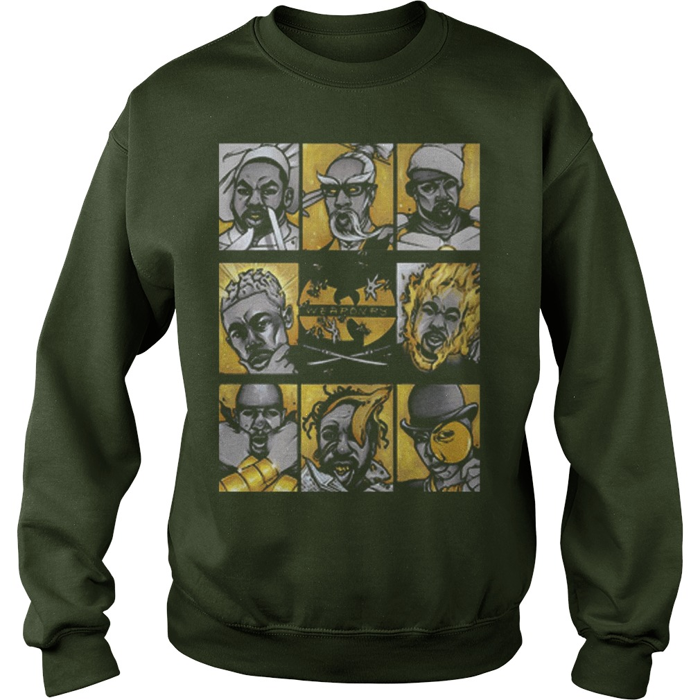 Wu Tang Clan Weaponry Sweater