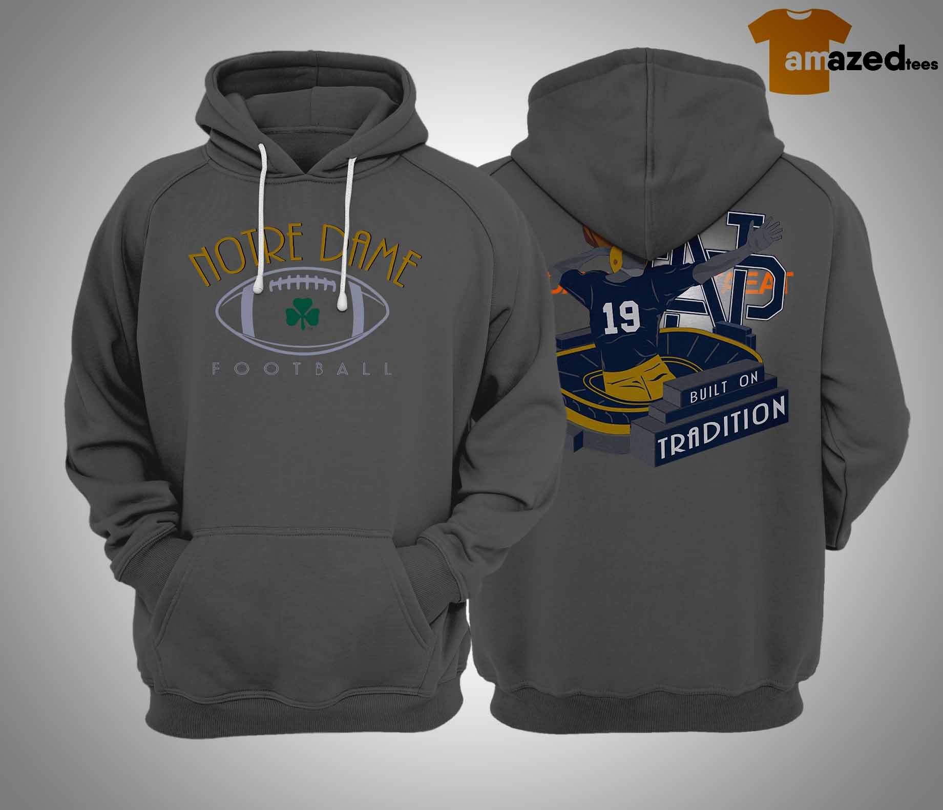 notre dame the Hoodie 2019