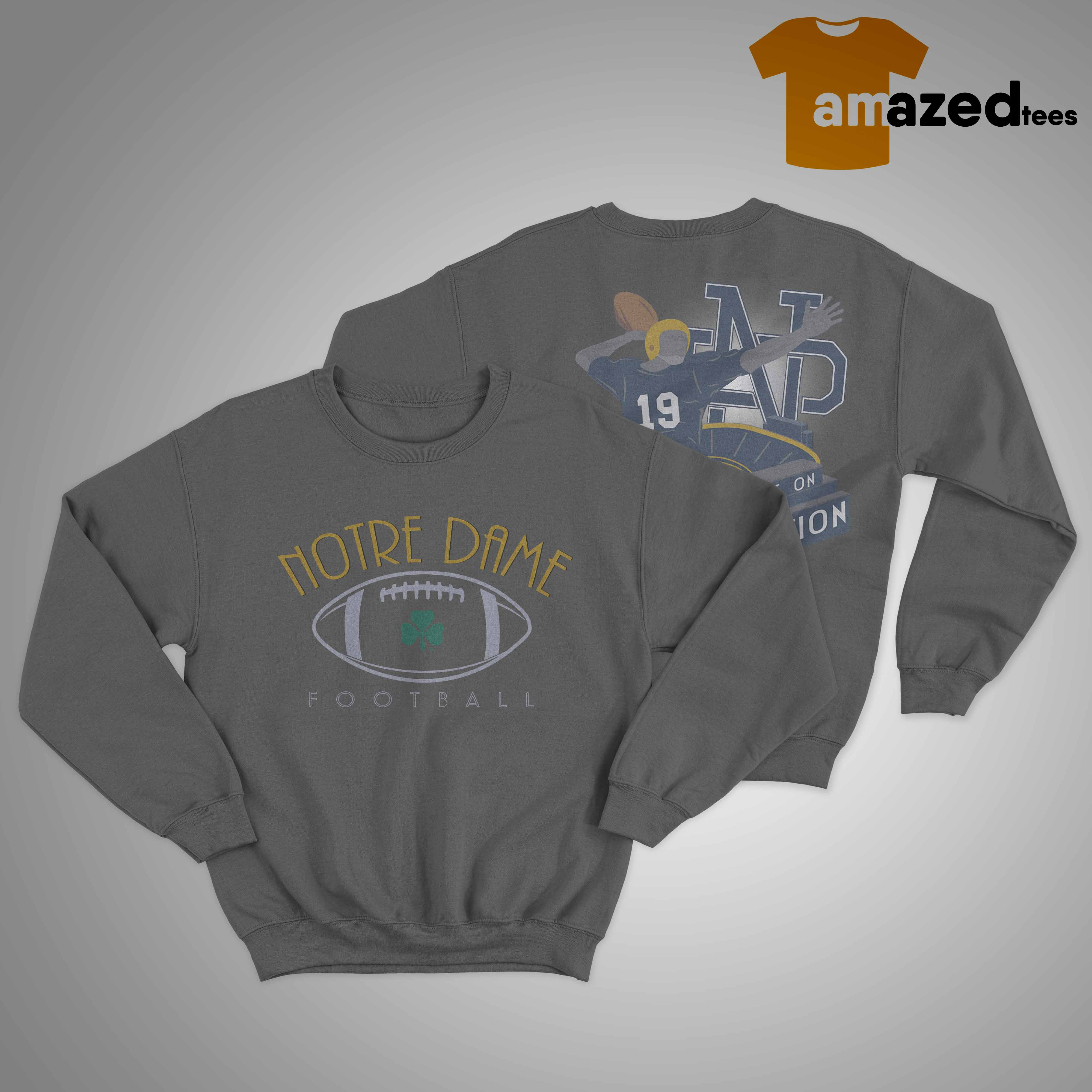 notre dame the sweater 2019