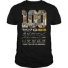 100 Years Of Green Packers Thank You For The Memories Shirt