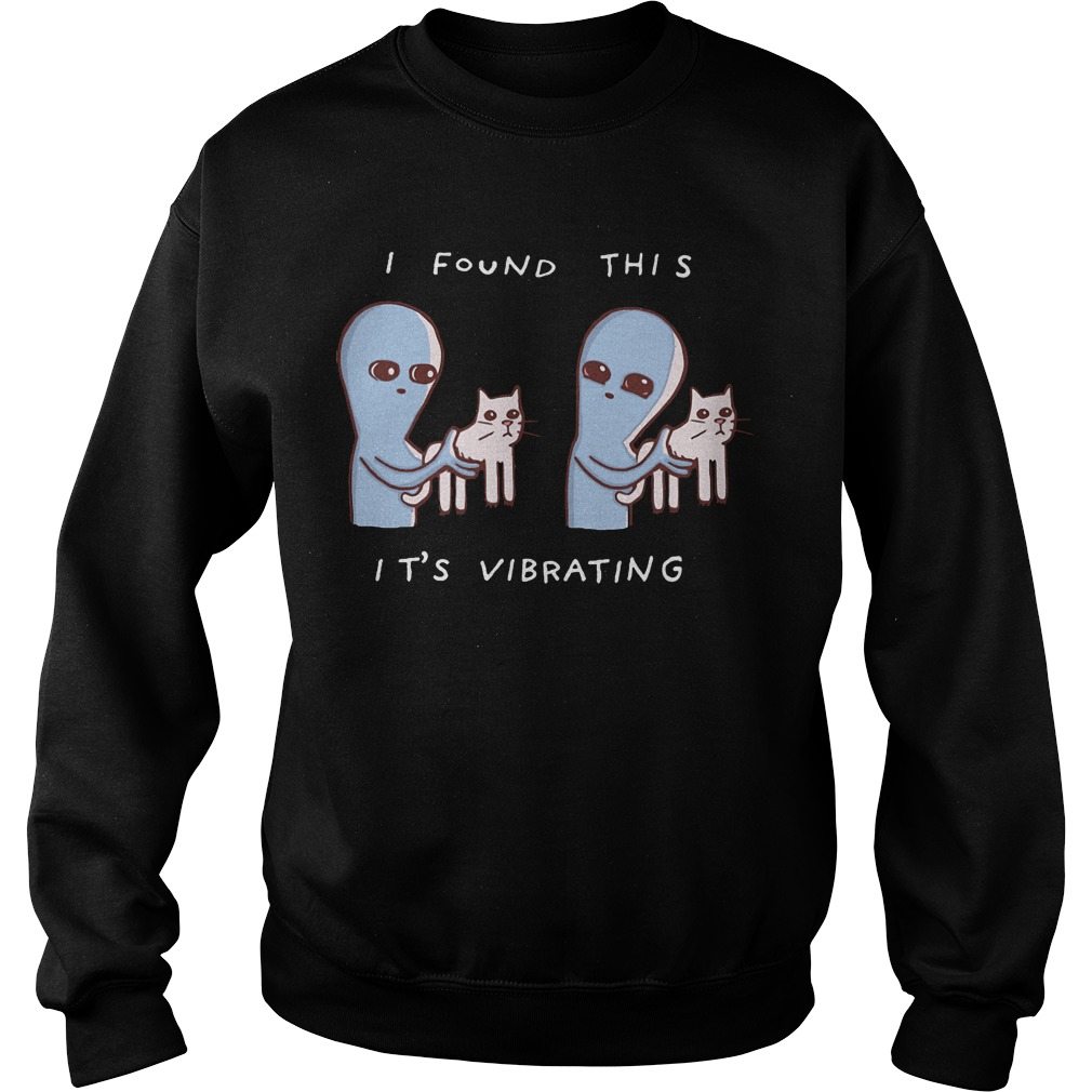 Alien I Found This It's Vibrating Sweater