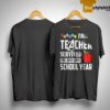 Avenger Endgame This Teacher Survived The 2018 2019 School Year Shirt
