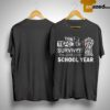Avengers Infinity Gauntlet This Teacher Survived The 2018 2019 School Year Shirt