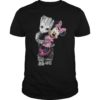 Baby Groot Hug Minnie Shirt