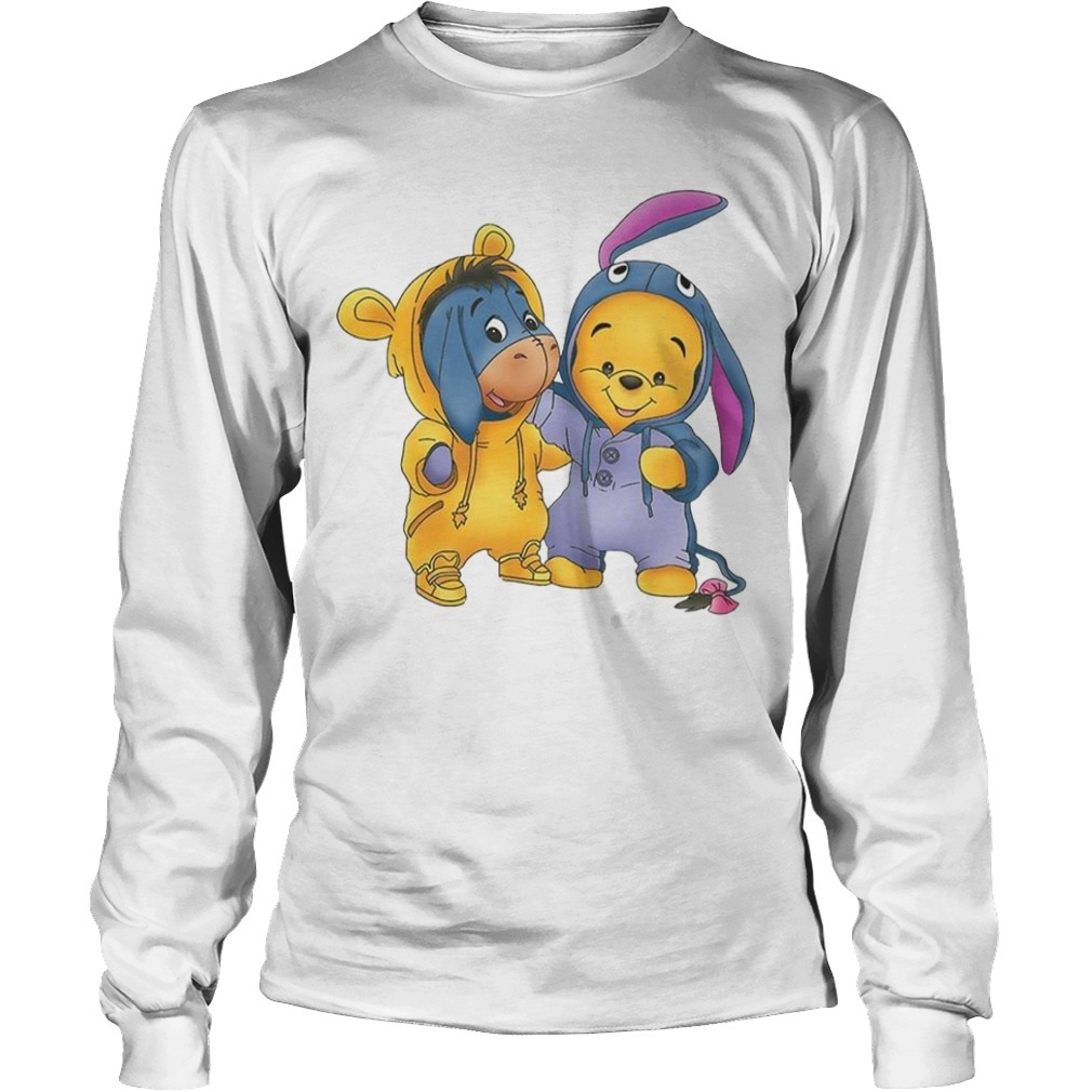 Baby Pooh And Eeyore Longsleeve Tee