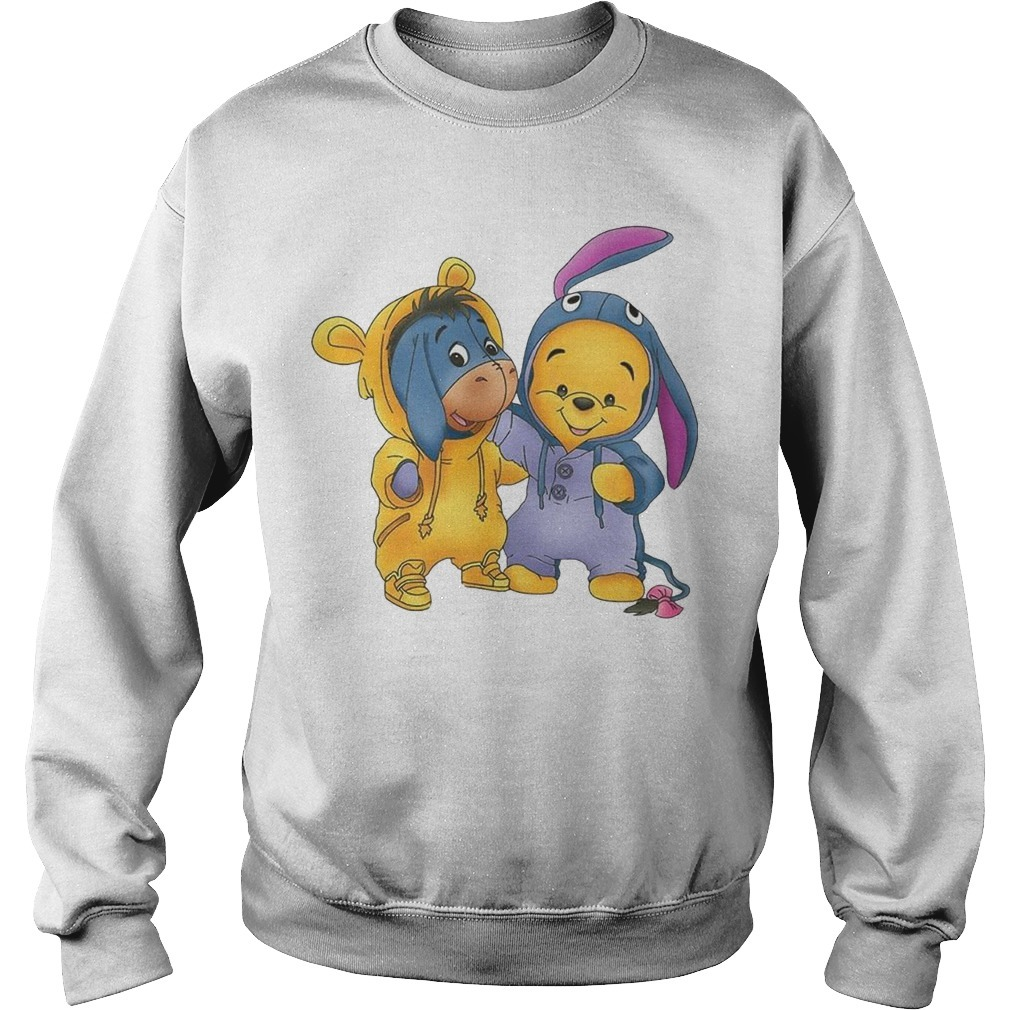 Baby Pooh And Eeyore Sweater