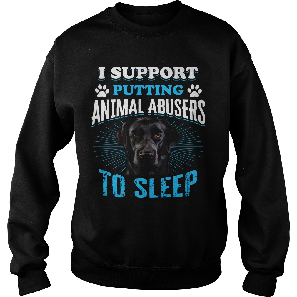 Beagle I Support Putting Animal Abusers To Sleep Sweater