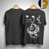 Cat Treble Clef Love Music Shirt