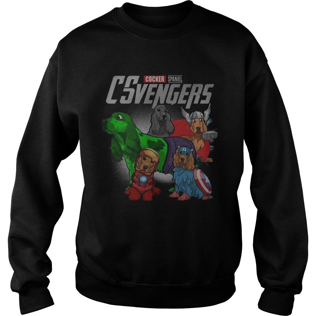 Cocker Spaniel Csvengers Sweater