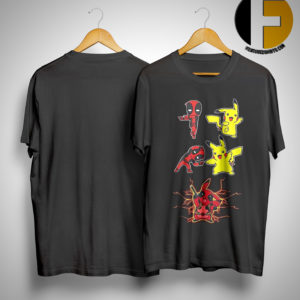 Deadpool And Pikachu Fusion Dance Shirt
